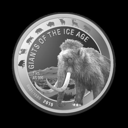 Auragentum_Giganten_der_Eiszeit_1kg_SILBER_Motiv1_Mammut_2019_hochauflösend