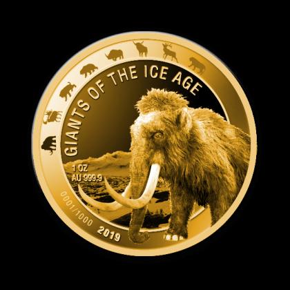 Auragentum_Giganten_der_Eiszeit_1oz_Gold_Motiv1_Mammut_2019_hochauflösend