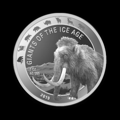 Auragentum_Giganten_der_Eiszeit_1oz_SILBER_Motiv1_Mammut_2019_hochauflösend